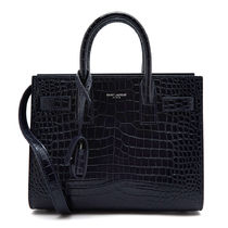 Saint Laurent★Crocodile NANO Shoulder Bag 392035 DND1N 4150