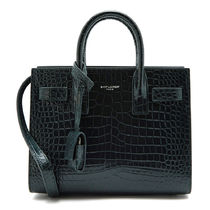 Saint Laurent★Crocodile NANO Shoulder Bag 392035 DND1N 4458