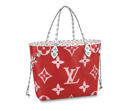 Louis Vuitton ショルダーバッグ・ポシェット 《大人気!》ルイヴィトン*NEVERFULL MM トートバッグ / Rouge(6)