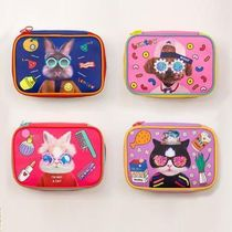 【Bentoy】Animal Hipsters Square Makeup Pouch (4color)