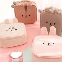 Bentoy(ベントイ) メイクポーチ 【Bentoy】Animal firm Square Makeup Pouch (poodle)