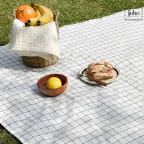 juhoDECO★SIMPLE CHECK PICNIC MAT(携帯用ECOバッグ付き)