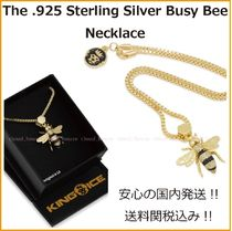 送料税込【King Ice】The .925 Sterling Silver Busy Bee ネックレス