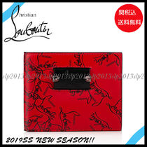 18New■Christian Louboutin■Coolcoin Wallet Red☆関税込