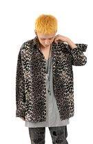 大人気!【Raucohouse】 BLACK LEOPARD SHIRTS