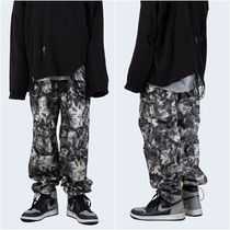 大人気!【Raucohouse】 WATERY TIE-DYE CARGO PANTS
