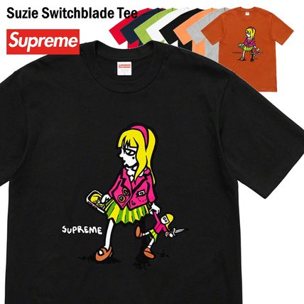 Supreme Tシャツ・カットソー Supreme シュプリーム Suzie Switchblade Tee SS 19 WEEK 6