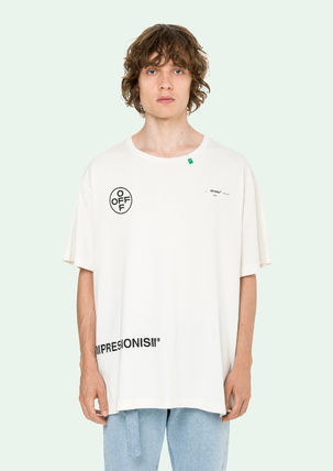 Off-White Tシャツ・カットソー 即発送 OFF WHITE 19SS STENCIL S/S OVER TEE(2)