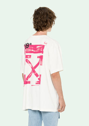 Off-White Tシャツ・カットソー 即発送 OFF WHITE 19SS STENCIL S/S OVER TEE(4)