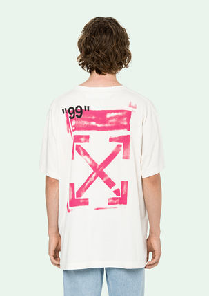 Off-White Tシャツ・カットソー 即発送 OFF WHITE 19SS STENCIL S/S OVER TEE(5)