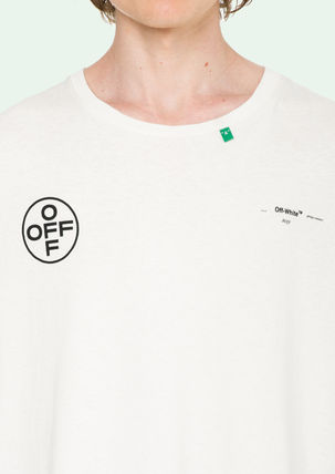 Off-White Tシャツ・カットソー 即発送 OFF WHITE 19SS STENCIL S/S OVER TEE(6)