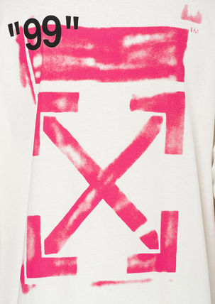Off-White Tシャツ・カットソー 即発送 OFF WHITE 19SS STENCIL S/S OVER TEE(7)
