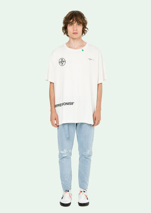 Off-White Tシャツ・カットソー 即発送 OFF WHITE 19SS STENCIL S/S OVER TEE(8)