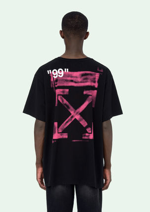 Off-White Tシャツ・カットソー 即発送 OFF WHITE 19SS STENCIL S/S OVER TEE(13)