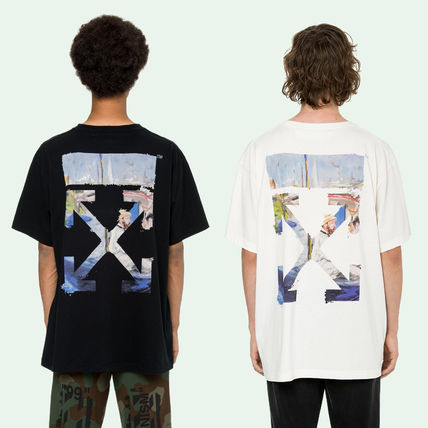 Off-White Tシャツ・カットソー 即発送 OFF WHITE 19SS COLORED ARROWS S/S OVER TEE