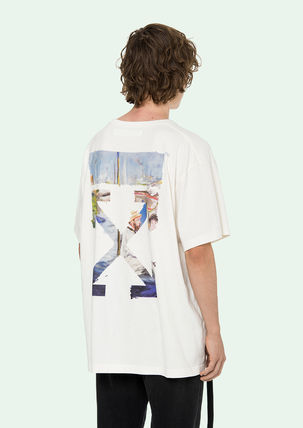 Off-White Tシャツ・カットソー 即発送 OFF WHITE 19SS COLORED ARROWS S/S OVER TEE(4)