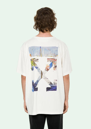 Off-White Tシャツ・カットソー 即発送 OFF WHITE 19SS COLORED ARROWS S/S OVER TEE(5)