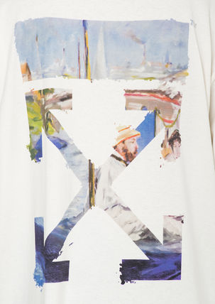 Off-White Tシャツ・カットソー 即発送 OFF WHITE 19SS COLORED ARROWS S/S OVER TEE(8)