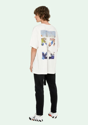 Off-White Tシャツ・カットソー 即発送 OFF WHITE 19SS COLORED ARROWS S/S OVER TEE(10)