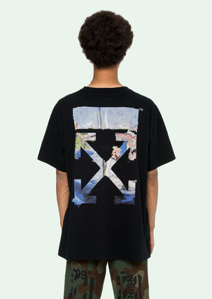 Off-White Tシャツ・カットソー 即発送 OFF WHITE 19SS COLORED ARROWS S/S OVER TEE(14)