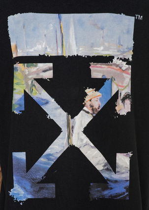 Off-White Tシャツ・カットソー 即発送 OFF WHITE 19SS COLORED ARROWS S/S OVER TEE(16)