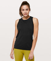 Swiftly Breeze Tank  Relaxed Fit*カバー+匂いを抑える*Black