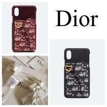 フランス買い付けDior ♡Saddle Dior Oblique Iphone X/XS