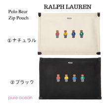 ★POLO RALPH LAUREN★NEWポロベアー ポーチPolo Bear Zip Pouch
