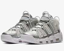 NIKE AIR MORE UPTEMPO Loud and Clear モアテン Metallic Silve