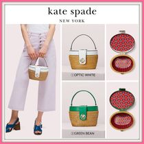 期間限定セール! ☆kate spade☆rose medium top handle basket bag