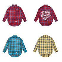 日本未入荷STIGMAのHALLUCINATION OVERSIZED CHECK SHIRTS 全3色