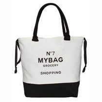 Bag all(バッグオール) トートバッグ 即納Bag-all  NY発 厚手キャンバスWorld Traveler Tote Grocery