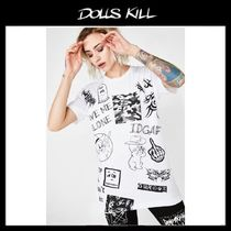 関税/送料込*DOLLS KILL*LEAVE ME ALONE TEE