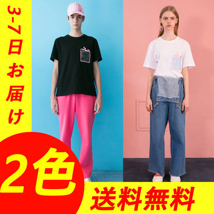 STEREO VINYLS COLLECTION Tシャツ・カットソー 【Stereo Vinyls】◆Tシャツ◆ 韓国ブランド/関税・送料込
