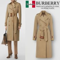 Burberry Trench coat in gabardine di cotone