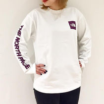新作☆ロゴTEE THE NORTH FACE  L/S SQUARE LOGO SLEEVE TEE