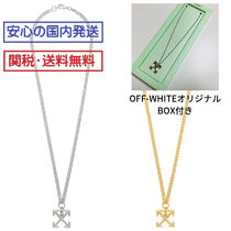 ARROW NECKLACE☆ネックレス☆オフホワイト☆OFF-WHITE 国内発送