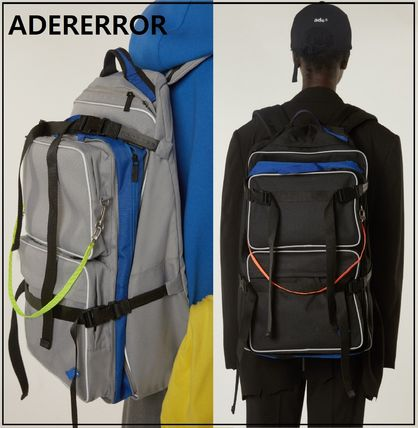 ADERERROR バックパック・リュック ADERERROR★正規品★Multiple backpack バックバッグ/追跡