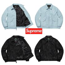 SS19 Supreme Schott Leather Tanker Jacket - レザージャケット