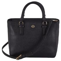 Tory Burch(トリーバーチ) トートバッグ Tory Burch  ROBINSON MINI SQUARE TOTE Leather Satchel