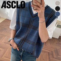 ★ASCLO★ Over Checked Vest