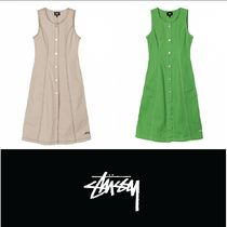 【STUSSY】BAILEY CONTRAST STITCH DRESS