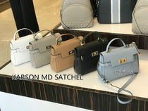 4月新作 Michael Kors★KARSON MD SATCHEL 2WAYバッグ