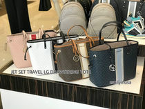 4月新作 MICHAEL KORS★JET SET TRAVEL TOTE*大容量トート