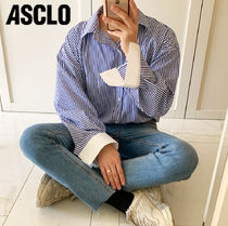 ASCLO   Laurent Stripe Shirt  NE732