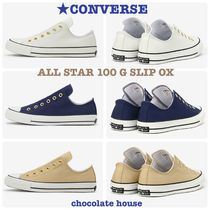 【CONVERSE】CHUCK TAYLOR  ALL STAR 100 G SLIP OX スリップ