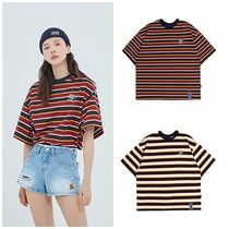 日本未入荷ROMANTIC CROWNのE.D.V Striped T Shirt 全2色