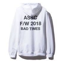 【即発】訳あり■ANTI SOCIAL SOCIAL CLUB Bad Times パーカー M