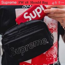 ★   Supreme   ★  FW18   Week1  ★  Shoulder Bag  ★  Black