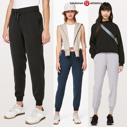 lululemon フィットネスボトムス ヨガや旅行先に!ジョガーパンツ★On The Fly Jogger